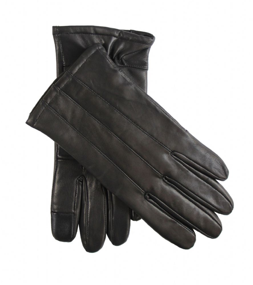 Ladies touch leather gloves women genuine leather winter driving gloves